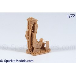 F1RM4 Ejection Seat for Mirage F1C and C200 - 1/72